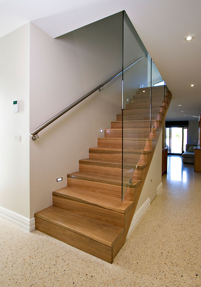 Our Work Stairwell Melbourne Quality Timber Stairs